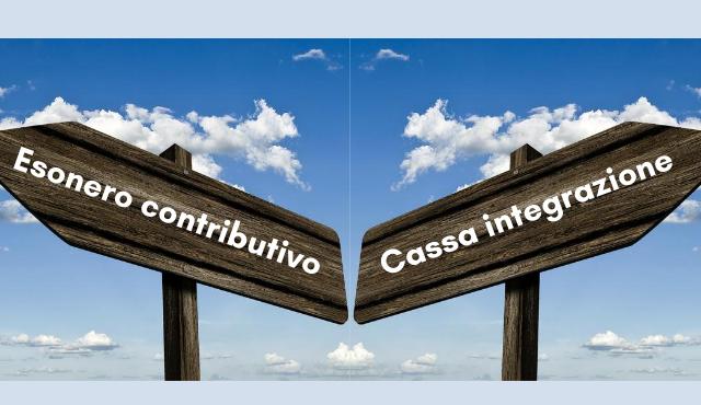 LA SCELTA TRA LA PROROGA DELLA CASSA INTEGRAZIONE +18 E L'ESONERO CONTRIBUTIVO NEL DECRETO AGOSTO 2020